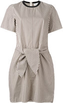 3.1 Phillip Lim tie waist dress - women - Silk/Cotton/Spandex/Elastane/Viscose - 4