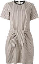 3.1 Phillip Lim tie waist dress - women - Silk/Cotton/Spandex/Elastane/Viscose - 8