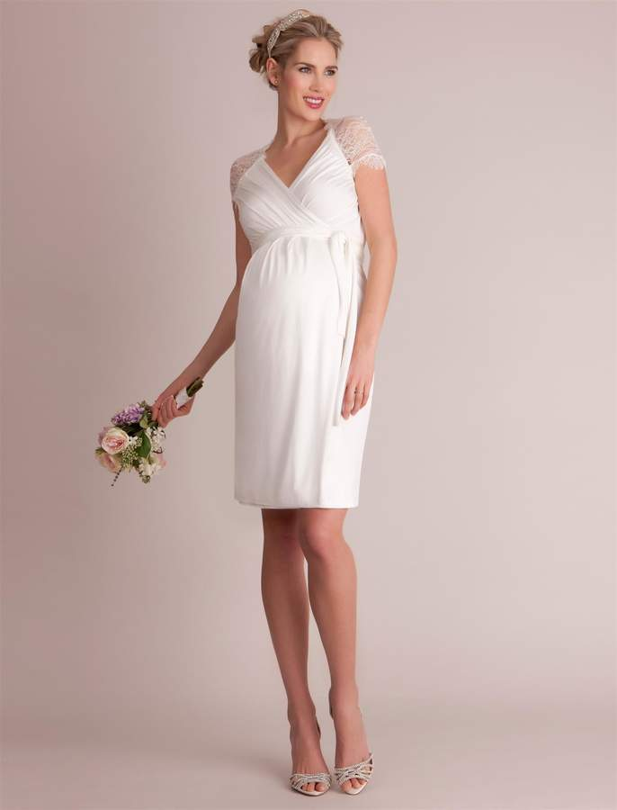 A Pea in the Pod Seraphine Luxe Chelsey Maternity Dress