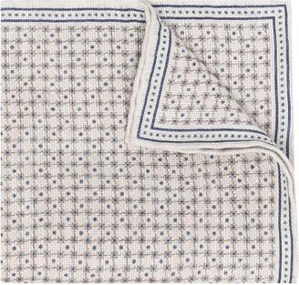 Brunello Cucinelli Check-Pattern Pocket Square