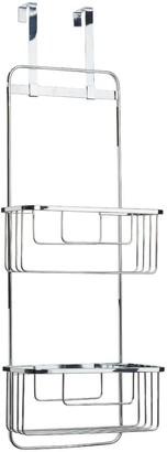 Croydex Hook Over Door Double Storage Basket