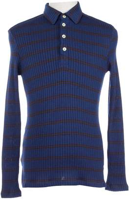 Dolce & Gabbana Blue Synthetic Polo shirts