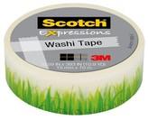 Scotch MULTI-COLORED SCRPBK EMBEL WASHI TAPE GREEN