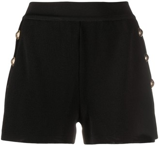 Balmain Embossed Buttons Shorts