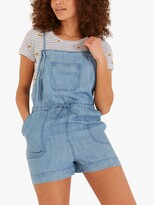 Thumbnail for your product : Fat Face FatFace Denim Shortie Strappy Dungarees