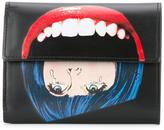 Undercover face print wallet