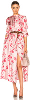 Brock Collection Disco Dress in Pink,Floral.