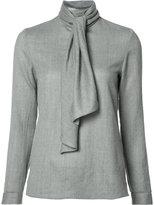 Vanessa Seward scarf detail blouse