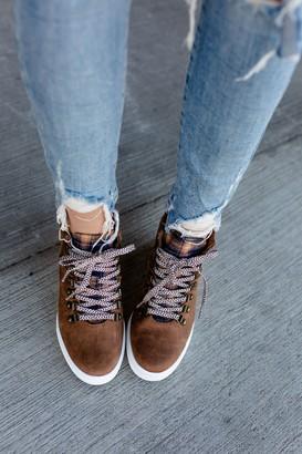 Tibi Wedge Sneaker - Tan