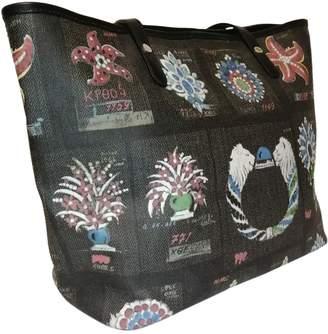 Bvlgari Black Leather Handbags