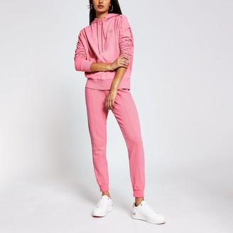 River Island Womens Pink long sleeve exposed seam hoody