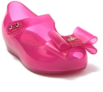 Mini Melissa Vivian Westwood Anglomania + Ultragirl X Mary Jane Flat (Toddler)
