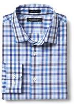 Banana Republic Grant-Fit Supima Cotton Check Shirt