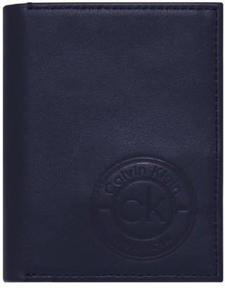 Calvin Klein Navy Blue Vertical Wallet