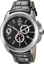 Jivago Men's 'Gliese' Swiss Quartz Stainless Steel Casual Watch (Model: JV1517)