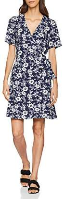 Warehouse Women's Willow Print Wrap Dress,(Size:)