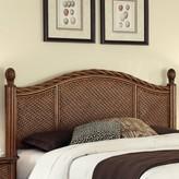 Beachcrest Home Dessie Panel Headboard Size: Queen / Full, Color: Cinnamon