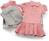 Ralph Lauren Girl Polo Dress 3-Piece Gift Set