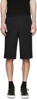 Givenchy Black Seersucker Shorts