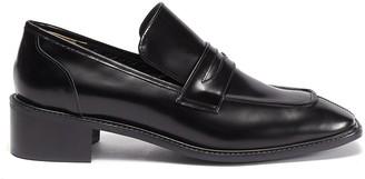 Osoi Derrick' Square Toe Leather Loafers