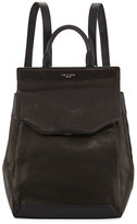 Rag & Bone Pilot II Leather Backpack, Black