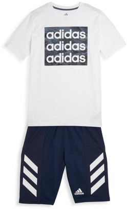 adidas Boy's Core Camo T-Shirt