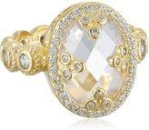 """Freida Rothman Metropolitan"""" Mirror Oval Ring, Size 7"""