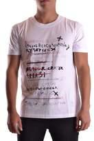 McQ Men's White Cotton T-shirt.
