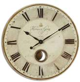 Uttermost Harrison Gray Wall Clock