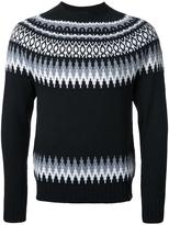 Bedwin&the Heartbreakers Bedwin & The Heartbreakers fair isle knit jumper