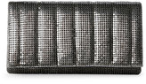 Jessica McClintock Pewter Cassie Quilted Clutch