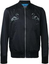Diesel flamingos bomber jacket - men - Polyester/Cotton - S