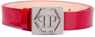 Philipp Plein Statement leather belt