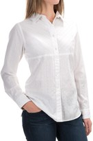 Woolrich Cottonwood Solid Dobby Shirt - Long Sleeve (For Women)