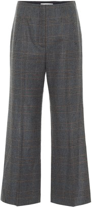 Veronica Beard Dova cropped straight wool pants