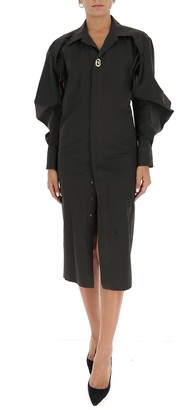 Bottega Veneta Shirt Midi Dress