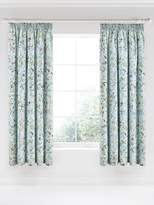 V&A Botanica 66x72 Aqua Curtains