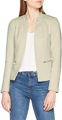 Only Women's Onlstory Mel Zip Blazer Cc Tlr Plain Suit Jacket,12 (Manufacturer Size: )