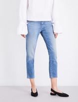 J Brand Sadey slim straight mid-rise jeans
