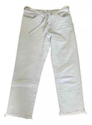 Marques Almeida White Denim - Jeans Jeans