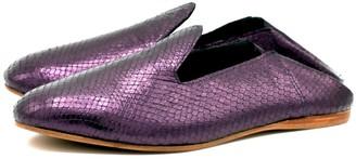 La Babouche Loafer Slip On Violet