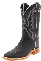 "Justin Boots Women's U.S.A. Bent Rail Collection 11"" Boot Wide Square Double Stitch Toe Leather Outsole,Burnished Tan"