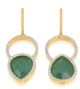 Monica Vinader Naida Kiss Cocktail Earrings