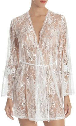 Jonquil Sutton Lace Wrap Robe