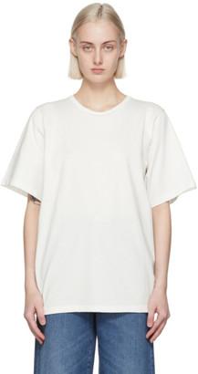 Totême White Organic Cotton Oversized T-Shirt