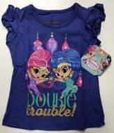 Bassket.com Nickelodeon Shimmer & Shine Girls T-Shirt