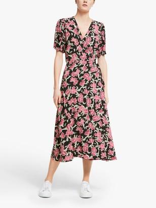 Just Female Alda Floral Print Dress, Romantic Flower