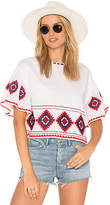 Tularosa Sienna Top in White. - size M (also in )
