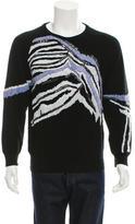 James Long Embellished Wool Sweater