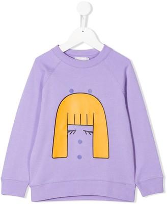 Stella Mccartney Kids Girl Patches Sweatshirt